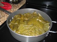 Dolmades (Old Styggiti) Tags: food cooking greek rice lamb dolmades