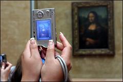Mona Lisa in The Louvre - Paris (Maciej Dakowicz) Tags: street camera city travel people paris france museum photography women louvre monalisa mona gioconda da leonardo vinci festivalparis
