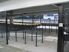 airport bike parking structure
