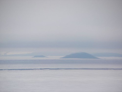 Fog over Ross Sea