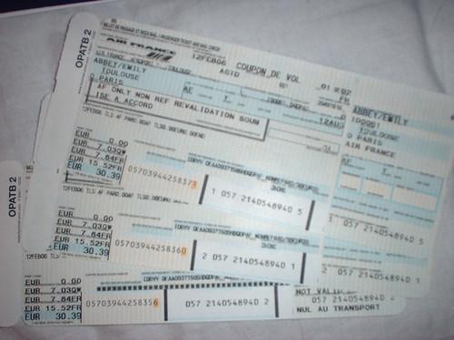Free tickets to paris