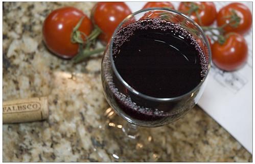 Wine and Tomato