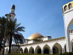 Façade (I Love Q8) Tags: architecture mosque kuwait shuwaikh alnassar almarzouq centreforislamicmedicine lulwaalnassar