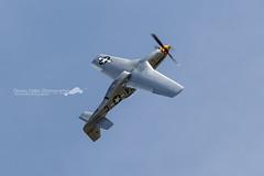 P-51D Mustang (Florian Mallet Photo) Tags: plane aircraft military jet meeting airshow mustang redarrows spotting raf dassault rafale alphajet