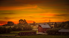Old Red Barn (http://fineartamerica.com/profiles/robert-bales.ht) Tags: ranch wood old sunset red sky building home beautiful barn rural sunrise vintage fence wow dark spectacular landscape wooden construction rust paint butte superb farm awesome grunge country farming scenic peaceful farmland structure stained boise sensational 365 rough plank tranquil emmett magnificent lumber stupendous oldbarn hardboard idado treasurevalley gemcounty scenicbiway squawbutte robertbales americaphotography