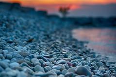 Sunset on a gravel beach (_Matt_T_) Tags: sundown pentax lakeontario smcpda55mmf14sdm nikhdrefexpro2 k5iis singlechallenges sijun2015 proneshooterslaydownonthejob