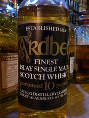 Ardbeg 10yo 40% (eitaneko photos) Tags: tokyo bottle single whisky 40 february cl ardbeg malt 2015 10yo