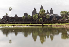 Angkor Wat (Rambo2100) Tags: reflection water pagoda ancient cambodia khmer lotus towers angkorwat off unesco siemreap angkor moat worldheritage mountmeru scjohnson suryavarmanii  rambo2100