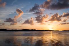 Islamorada Sunset (BrianEden) Tags: sunset vacation sky clouds keys bay fuji unitedstates florida fujifilm islamorada lorelei babymoon x100s brianedenphotography