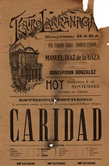 "Teatro Larrañaga_1904_Caridad_001 • <a style=""font-size:0.8em;"" href=""http://www.flickr.com/photos/134350972@N08/19933061649/"" target=""_blank"">View on Flickr</a>"