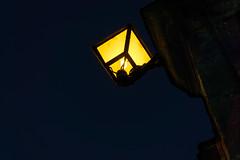 luz a contranoche (aitorudaeta) Tags: luz noche farola ligth ciudadela jaca bombilla