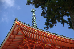Dai-to Koya-San rooftop