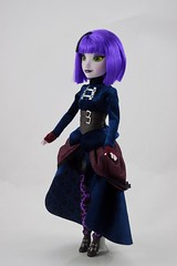 Disney Parks Attractionista Dolls - Disneyland Purchases - Gracey (Haunted Mansion) with Hat - Deboxed - Standing - Full Right Front View (drj1828) Tags: standing us doll disneyland haunted mansion purchase 12inch 2015 gracey disneyparks deboxed attractionista