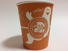 KALDI COFFEE FARM カルディコーヒーファーム halloween (Majiscup - 紙杯帶你看世界) Tags: モレラ岐阜店maleragifustoremotosu gifu japan kaldi coffee farm halloween papercup カルディコーヒーファーム