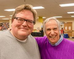 Me and Henry Winkler (Robert C. Armstrong) Tags: henrywinkler fonz sony happydays