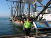 Dawn- HMS Surprise (Photo Squirrel) Tags: sandiegomaritimemuseum hmssurprise masterandcommander filmprop shipsailingshipmovieprop city california sandiego sandiegobay bay ocean water harbor wife woman