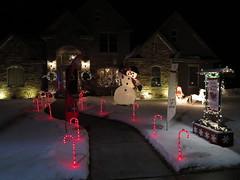 014 Schwalbach home at Christmas (jgagnon63@yahoo.com) Tags: christmaslights christmas christmasdecorations escanaba december holidayhomes holidays nightphotography 2016 uppermichigan upperpeninsula deltacounty michigan canong1x