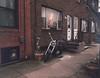 (Chris Giuliano) Tags: philadelphia pa pennsylvania 120mm 120film mediumformat oldcar motorcycle city urban portrichmond mamiya645 mamiyam645 mediumformatfilm chrisgiuliano filmisnotdead kodakportra800 portra800 portra