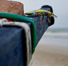 Fishing Hook (Explore 17/12/16 #400) (Sarah Marston) Tags: huahin thailand asia prachuapkhirikhan fishingboat beach fish hook sony alpha a65 rope totallythailand december 2016