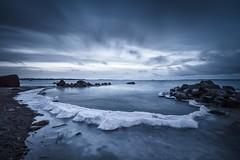 Ice Lagoon (Jyrki Salmi) Tags: jyrki salmi nikon d600 nikkor 1635mm kotka finland äijänniemi winter outdoor morning ice cold blue snow