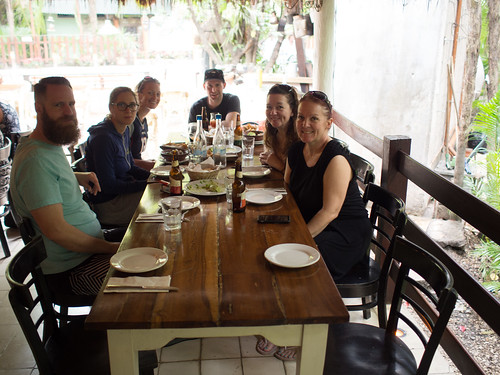 First Lunch in Tulum: Casa Banana