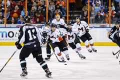 "Missouri Mavericks vs. Utah Grizzlies, December 28, 2016, Silverstein Eye Centers Arena, Independence, Missouri.  Photo: John Howe / Howe Creative Photography • <a style=""font-size:0.8em;"" href=""http://www.flickr.com/photos/134016632@N02/31813509992/"" target=""_blank"">View on Flickr</a>"