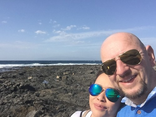 Lovely Volcanic Beach