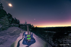 Shred guitar in Winter night (davidshred) Tags: ibanez shred guitar david janglöv d3300 nikon sweden