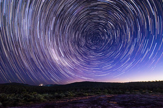 Sullivan's Rock Star Trails, Western Australia