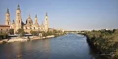 Zaragoza (mmontesfotografo) Tags: landscapephotography landscape travelphotography travel ngc spain españa river rio basilica fineartphotography fineart