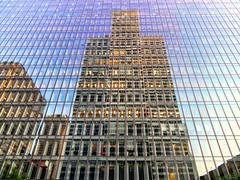 Montreal Skyscraper (duaneschermerhorn) Tags: reflection reflect reflective glass glassclad mirror architecture architect building skyscraper structure design