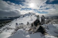 Hager Mountain Fire lookout (Justin Knott) Tags: fire lookout oregon 7000 feet nikon d800 rokinon 14mm snow snowshoe sun wide angle frozen