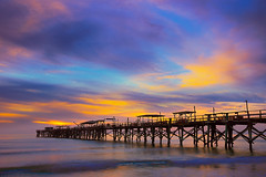 Redington Beach Long Pier, Florida, USA (Jos Buurmans) Tags: coastallandscape colourful colours evening fl florida landscape nature northamerica northwest pier redingtonbeach redingtonshores seascape sunset us usa unitedstates unitedstatesofamerica