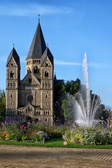 Temple Neuf (temple protestant). Metz (jjcordier) Tags: templeneuf temple protestant metz lorraine jetdeau