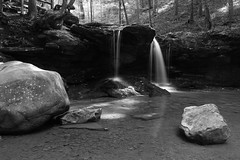 Debord Falls (MarcusDC) Tags: debordfalls tennessee waterfall frozenheadstatepark monochrome explore70january102017