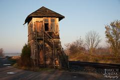 First Light, Last Time (jwjordak) Tags: tower abandoned nova ohio unitedstates us