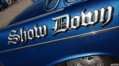 Show Down (Chad Horwedel) Tags: showdown 1957chevy chevrolet chevy classic dragcar custom supercharged cozzicorner downersgrove illinois