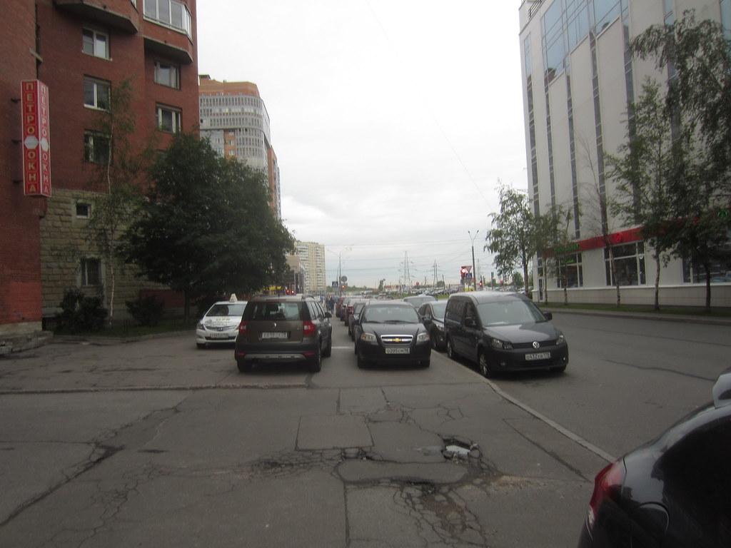 фото: #автохлам на пешеходной зоне IMG_2416
