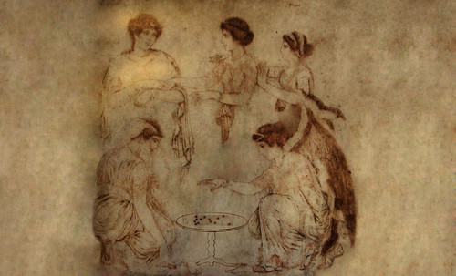 "Petteia - Ludus Latrunculorum  / Iconografía de las civilizaciones helenolatinas • <a style=""font-size:0.8em;"" href=""http://www.flickr.com/photos/30735181@N00/32399877421/"" target=""_blank"">View on Flickr</a>"