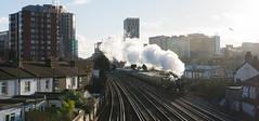 A Passing Tornado (McTumshie) Tags: 1y82 20170204 60163 belmondbritishpullman eastcroydon london tornado locomotive railway steam croydon england unitedkingdom