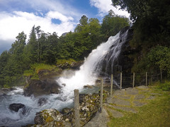 Geiranger, Norway (alioliolé) Tags: waterfall water norway geiranger