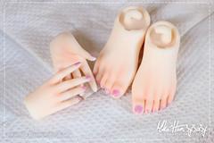 30 -  Hands & Feet Manicure (Miko^Hon3y3a3y) Tags: mikohon3y3a3yfaceup mikonyan faceup blushing bjd balljointeddoll balljointeddolls custom paint