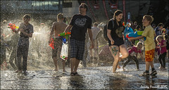 Giant Water Fight (Explored 06/07/2015) (zolaczakl) Tags: bristol giantwaterfight people event 2015 uk england southwest nikond7100 photographybyjeremyfennell millenniumsquare waterguns exploredinflickr explored