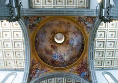 Dome and Ceiling (~gio~) Tags: italy primavera church florence spring italia arch basilica ceiling holy dome sacred april firenze sanlorenzo aprile fresco 2015 basilicadisanlorenzo