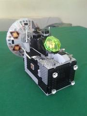 Mobile Frame Drop Ship (Vitor O S Faria) Tags: lego mecha mf0 mobileframezero