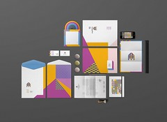 Papelaria A3 | arquitetura (crowl creative studio) Tags: colour architecture paper design identity a3 cdcover a4 stationery branding crowl stationerydesign