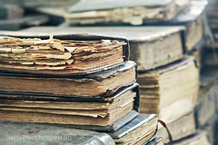 Very Old Books (Tanjica Perovic Photography) Tags: naturallight tattered antiquebooks prayerbooks stacksofbooks wornpages
