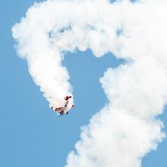 Muscle Biplane (Wobbly Orange) Tags: england flying nikon cornwall aircraft air airshow helicopter biplane aerobatics airdisplay rnas culdrose d300s musclebiplane