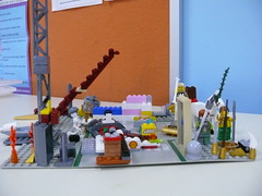 Spearwood Library's August LEGO Club
