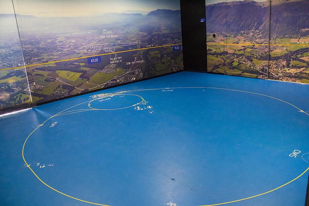 Mapa LHC SM18